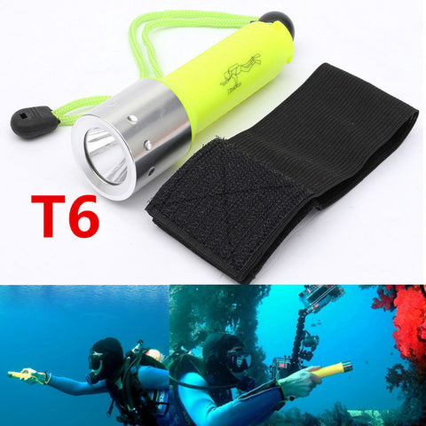 Flashlight - Divers Waterproof 2000LM CREE T6 LED - Underwater - Scuba - Dive Torch