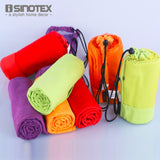 Towel - 4 Colors - Gym - Workout - Boating - Sports - Yoga - Swimming - 70 X 130 CM - Quick Dry - Super Absorbent Microfiber - With Carry Bag