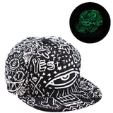 Hat - Glow In The Dark - 13 Choices - Adjustable - Unisex - Women - Men