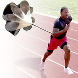 "56"" Speed resistance Conditioning Parachute - Adjustable - Athletic Training - Increase Speed for Sports and Track"