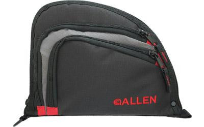 Allen Auto-fit Handgun Case Black-red