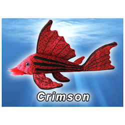 Crimson Pleco Plush! - KGTropicals
