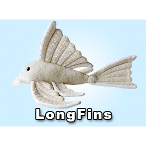 LongFins Pleco Plush! - KGTropicals
