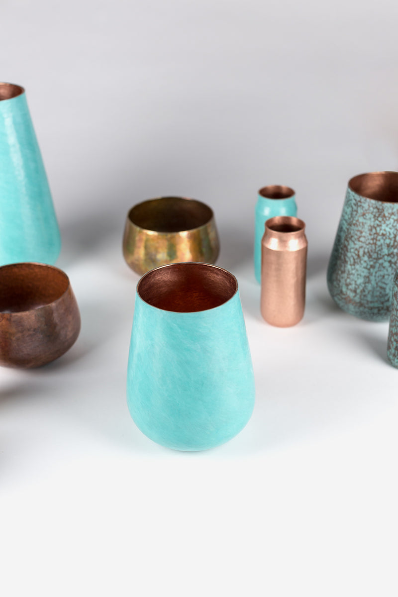 Estudio Pomelo Copper Vase All Styles Look Book