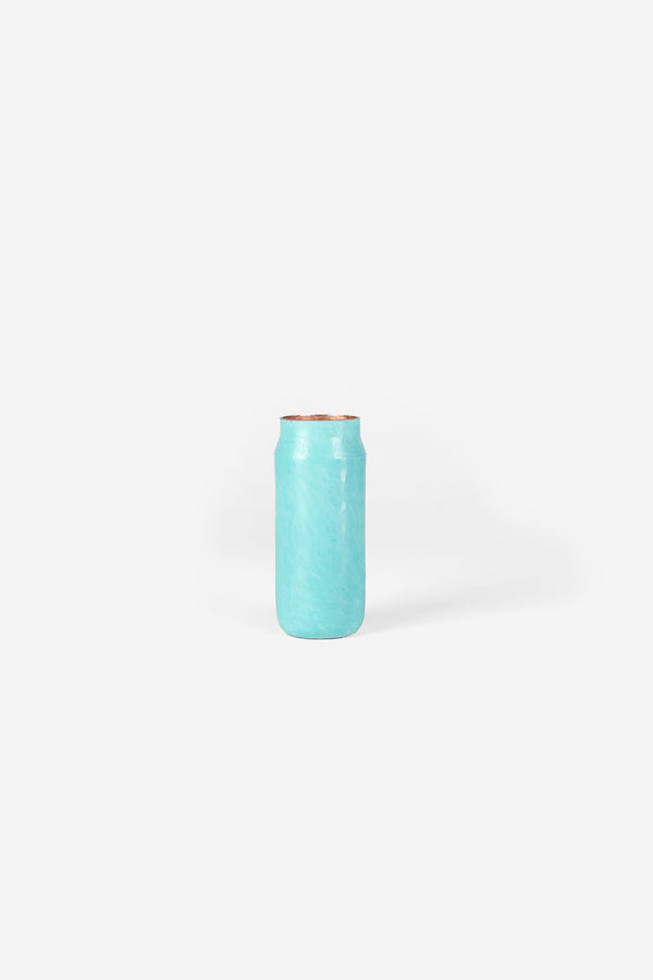 Estudio Pomelo Copper Vase Mini Oxido Front