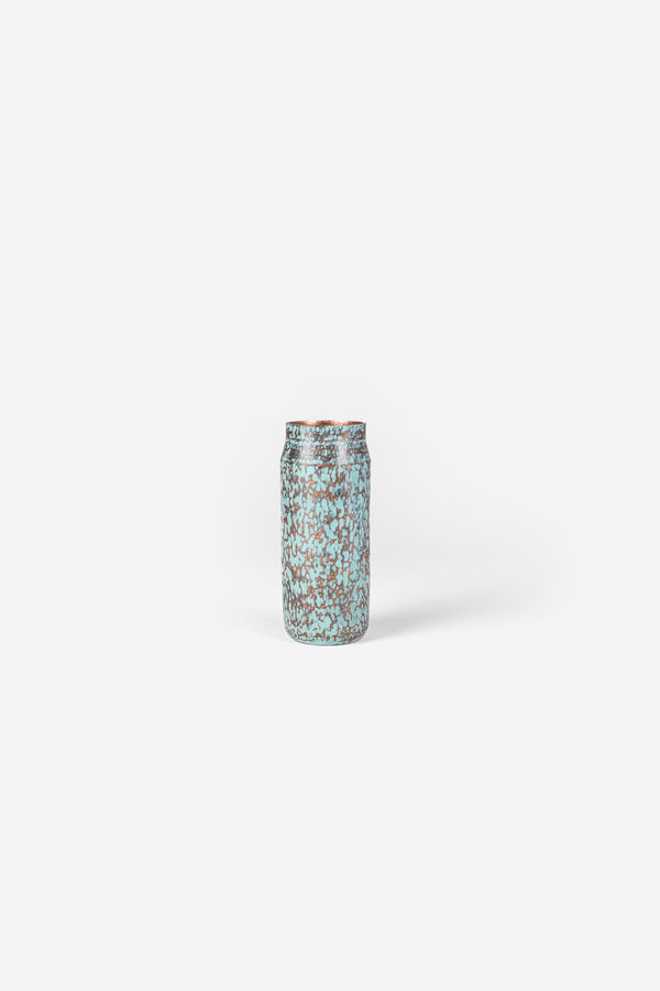 Estudio Pomelo Copper Vase Mini Raspado Front
