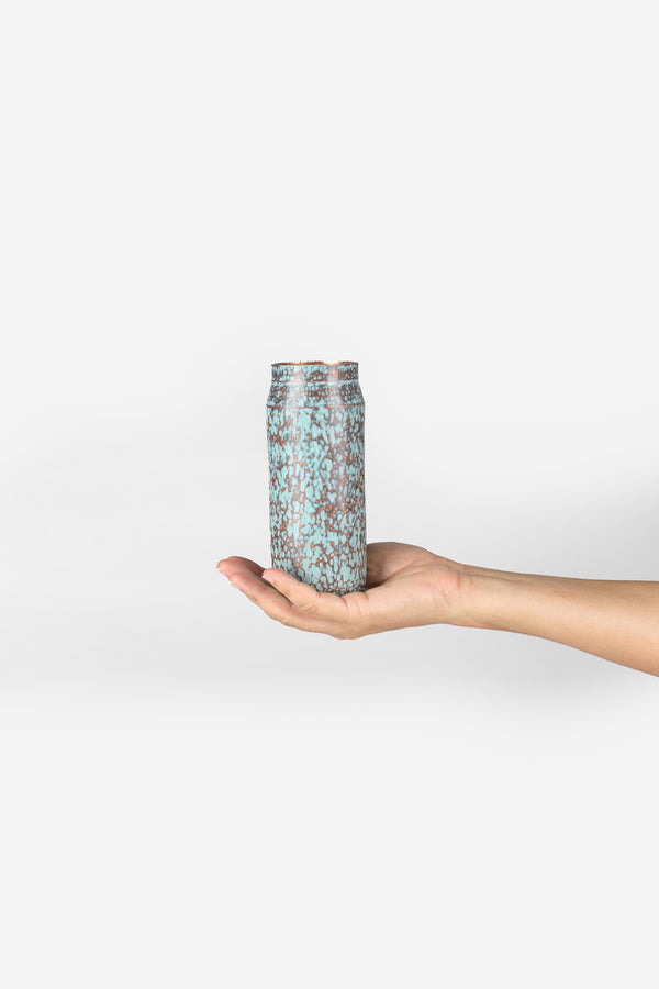 Estudio Pomelo Copper Vase Mini Raspado Look Book