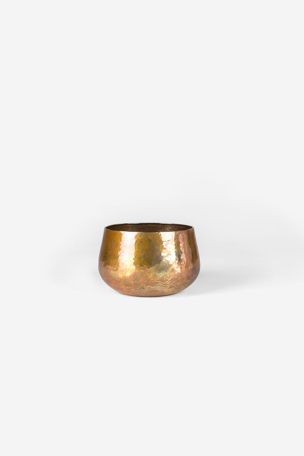 Estudio Pomelo Copper Vase Small Fuego Front