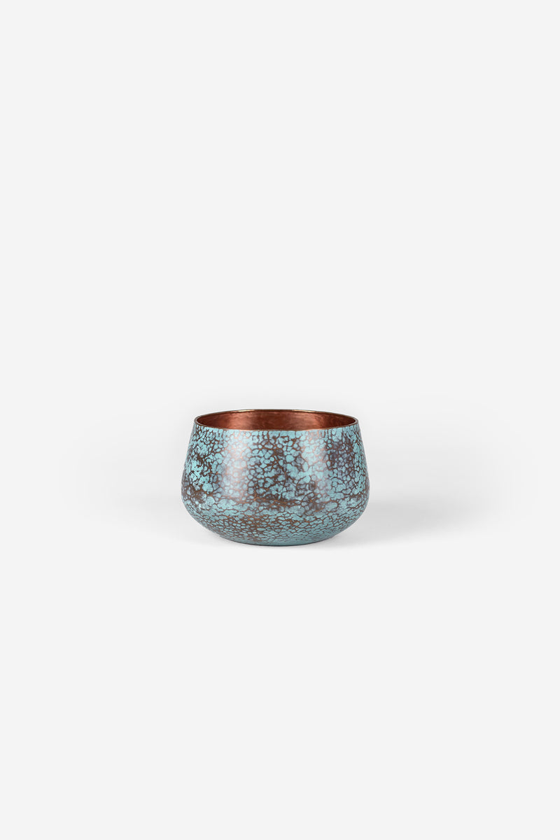 Estudio Pomelo Copper Vase Small Raspado Front