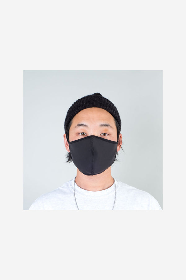 Quarantine Face Mask Black Look Book Male 1