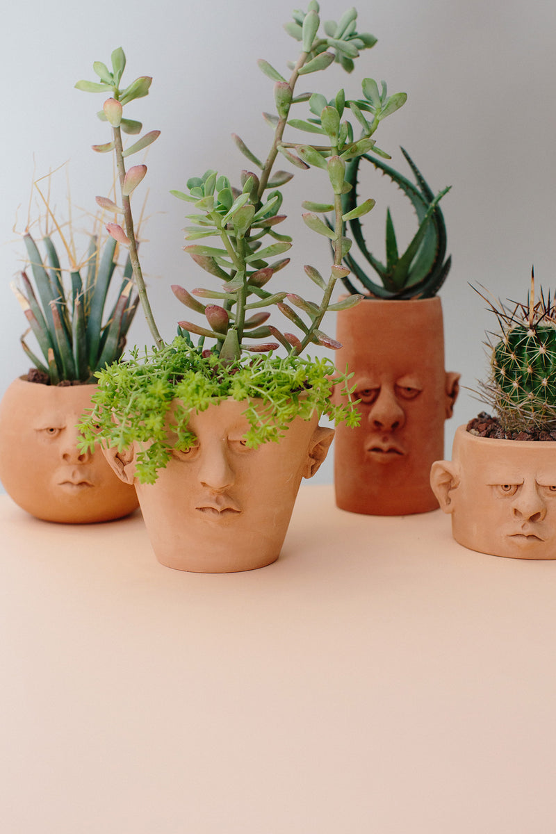 Head Planter Pottery All Styles Look Book
