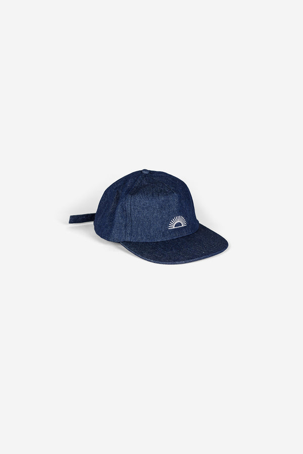 M Sun Logo Hat - Denim