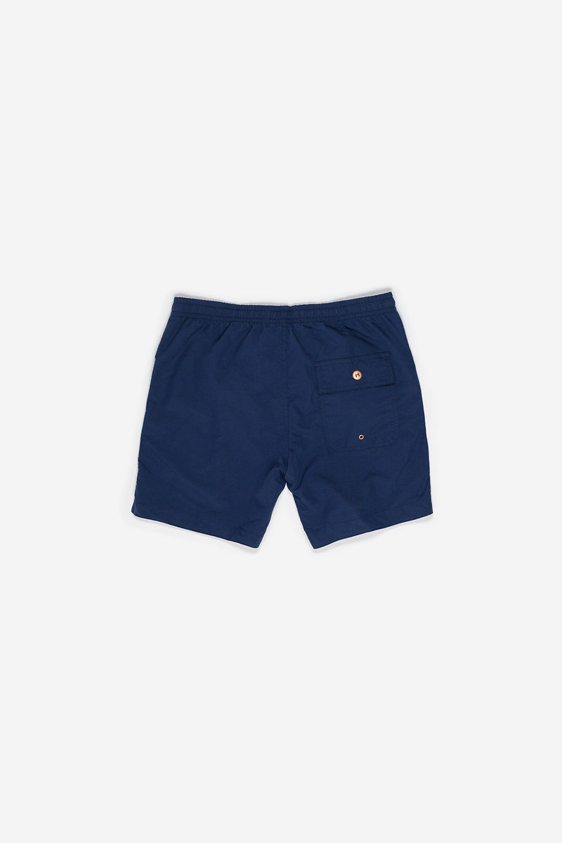 Manyana Swim Shorts Ser Navy Back