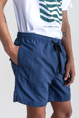 Manyana Swim Shorts Ser Navy Look Book Male Front Detail