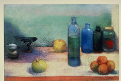 Bill Creevy - Blue Still Life (19x28)