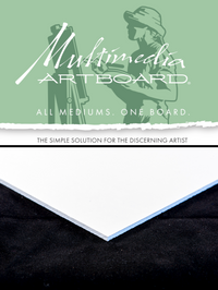 Multimedia Artboard Ultralight Artist Panels (2 panels)
