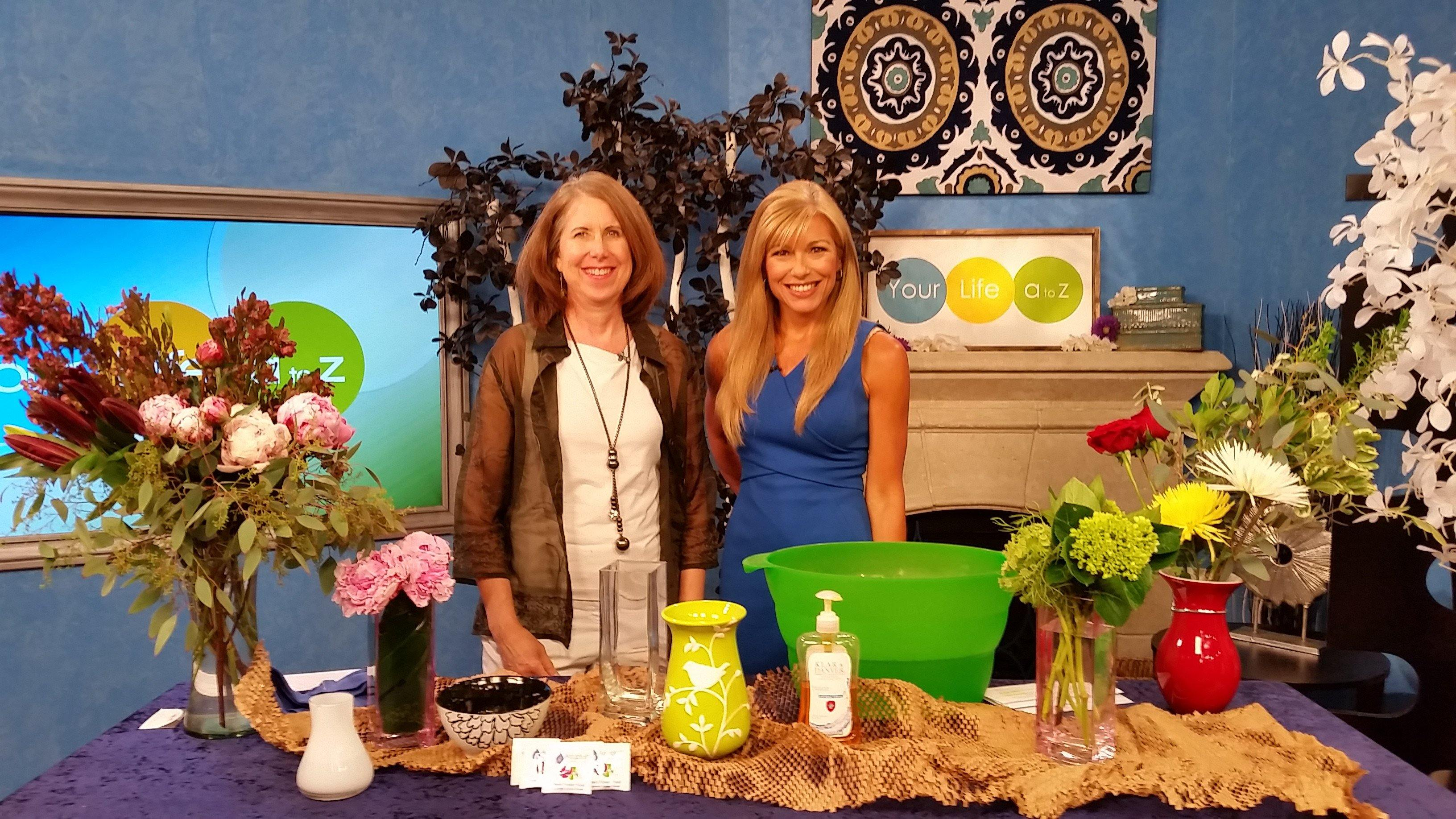 Watch Karin's tips for how to help your flowers last longer!