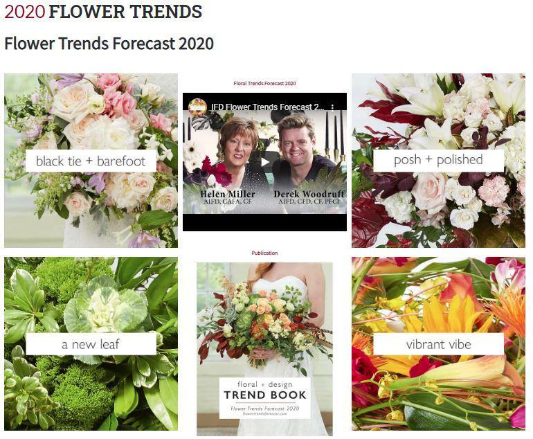 Flower Trends Forecast 2020