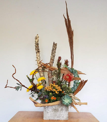 Arizona Cowboy Sympathy Flower Arrangement