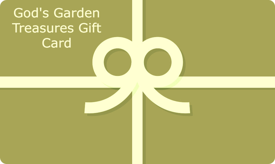 God's Garden Treasures Gift Card