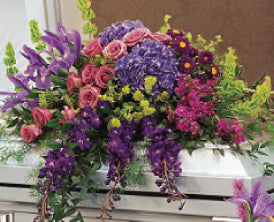 Casket Spray | Family Funeral Flowers | #FlowersPhoenix