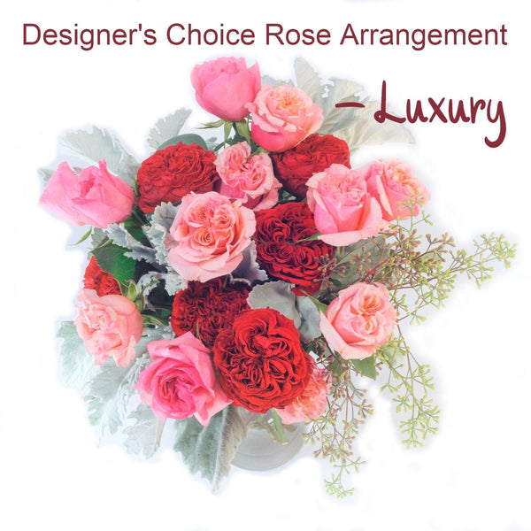 Surprise and Delight Rose Arrangement - Luxury - God's Garden Treasures