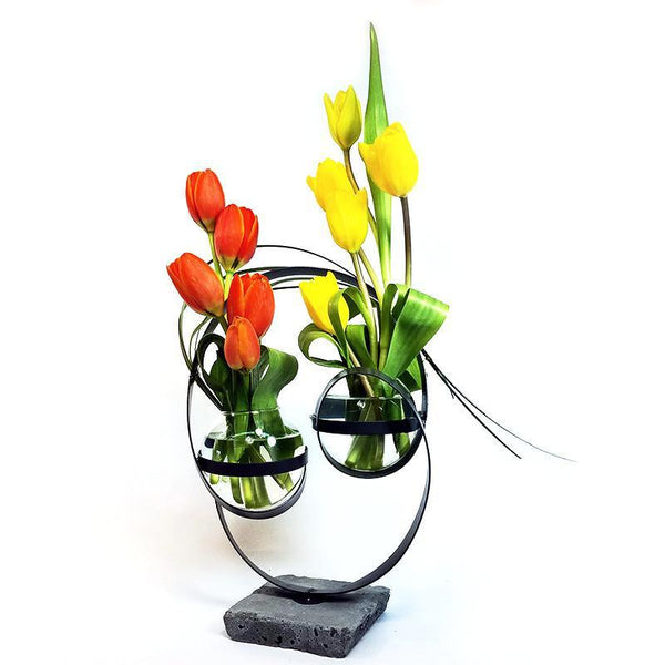 Sculptural Happiness - Tulip Modern Art - God's Garden Treasures