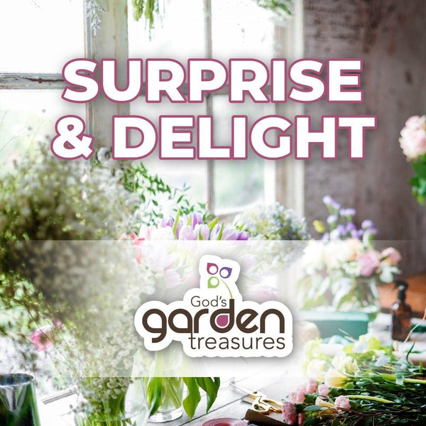 Surprise and Delight! - God's Garden Treasures