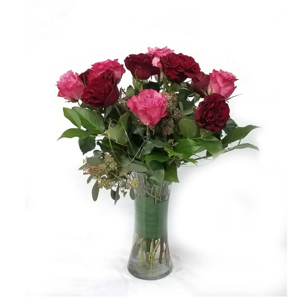 Pink and Red Garden Roses - God's Garden Treasures