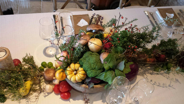 'Back to Your Roots' Fall Centerpiece - God's Garden Treasures