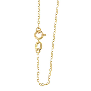 Cable Chain 10k Yellow Gold