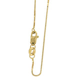Box Chain 14k Yellow Gold