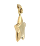 Star Light 10k Yellow Gold Charm