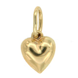 Baby Heart 10k Yellow Gold Charm