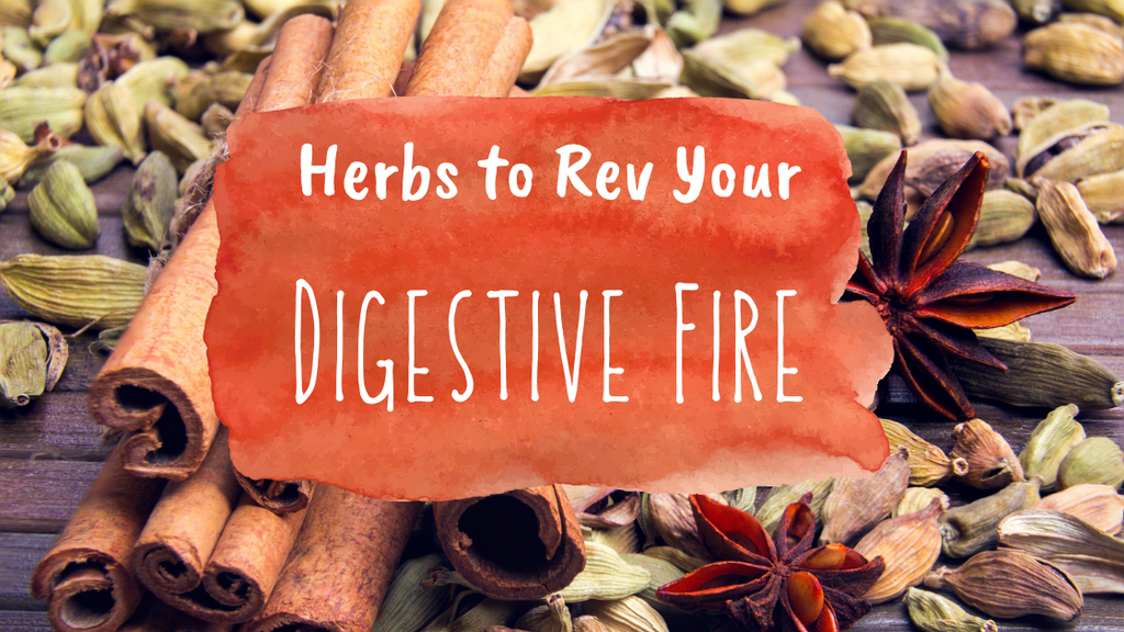 Herbs to Rev Your Digestive Fire!