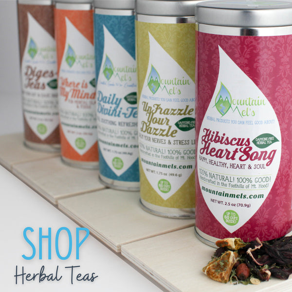 Loose Leaf Herbal Teas Functional Beverages