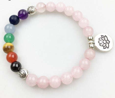 COLLECTION BRACELETS 7 CHAKRAS