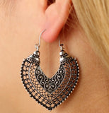 BOUCLES D'OREILLES STYLE 'GYPSY""