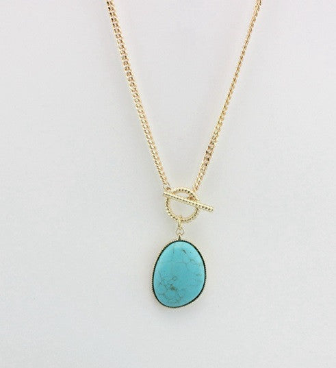 Collier Vintage Turquoise