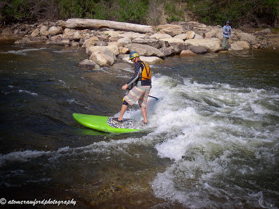 Low water blues? Go Stand Up Paddling!