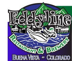 Drink beer on mondays, support the Buena Vista Whitewater Park with Eddyline Brewery!!!