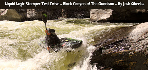 CKS Squad Review:The Liquid Logic Stomper Styles the Black Canyon of the Gunnison
