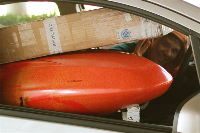 How much baggage will an airline allow a kayaker?