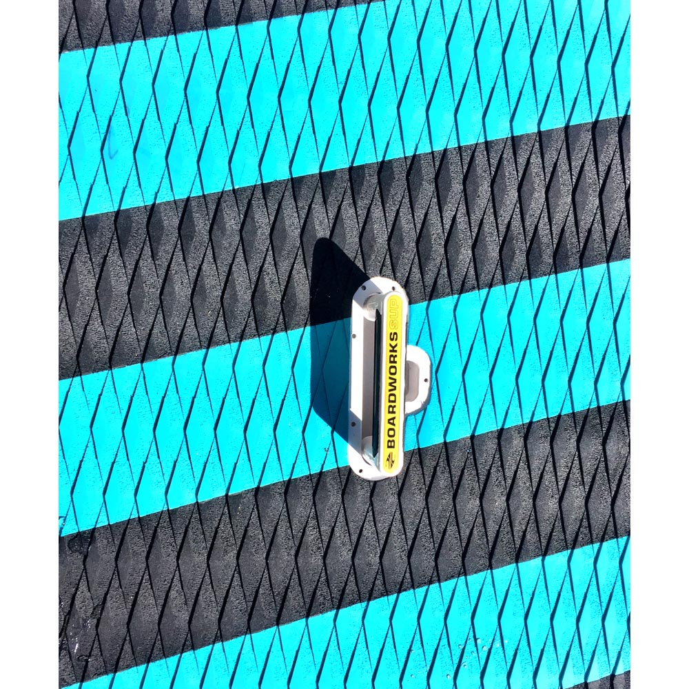 Badfish_Stand_Up_Paddle_River_Surfer_6_11_Review_Carbon_Innegra_Lift_SUP_Deck_Pad