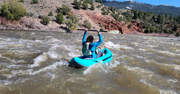 spud upper colorado river ducky inflatable kayak