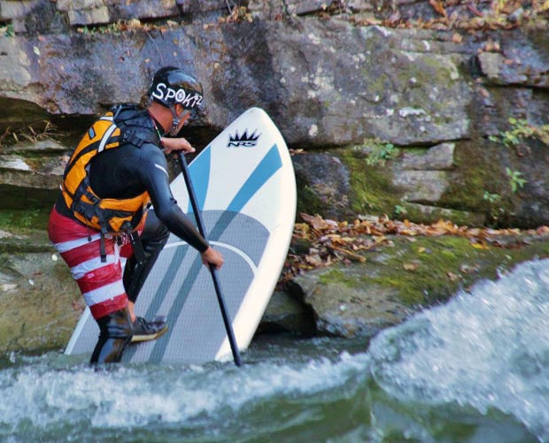 NRS_Czar_Inflatable_Stand_Up_Paddleboard_Review_Splat