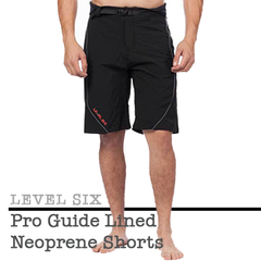 Men's Gifts Level Six Pro Guide Lined Neoprene Shorts