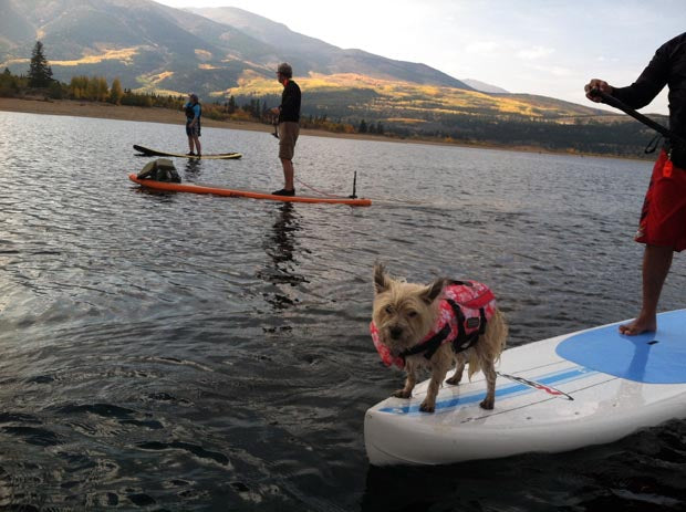 Stand_Up_Paddling_Twin_lakes_Colorado_Dogs