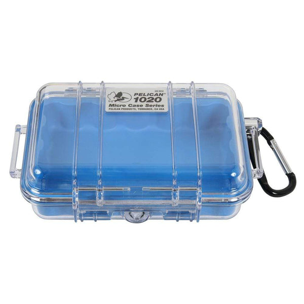 Pelican Micro Cases Dry Box Blue
