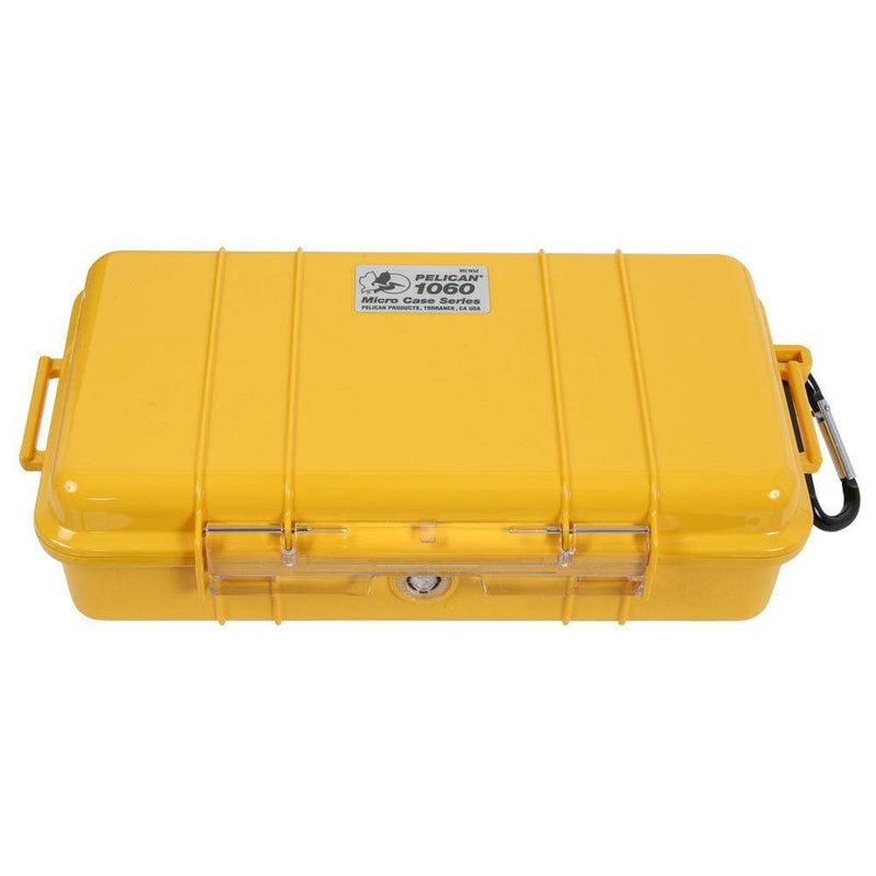 Pelican Micro Cases Dry Box Yellow